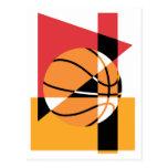 Baloncesto artístico postal