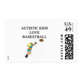 baloncesto autístico del amor de los niños envio