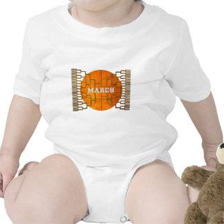 Baloncesto Awesomeness de marzo del Bracketology Camiseta