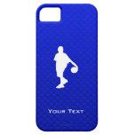 Baloncesto azul iPhone 5 funda
