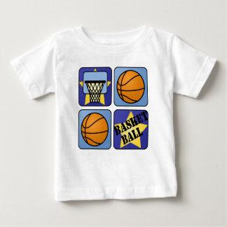 Baloncesto azul playeras