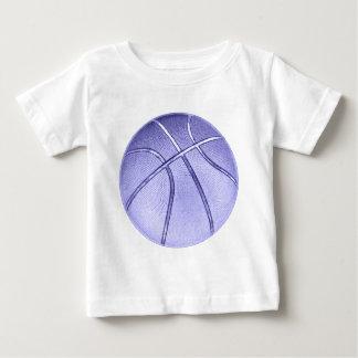 Baloncesto azul playera
