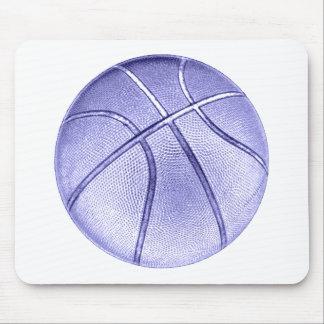 Baloncesto azul tapete de ratones