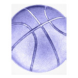 Baloncesto azul tarjetas informativas