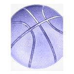 Baloncesto azul tarjeton