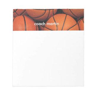 Baloncesto Blocs De Notas