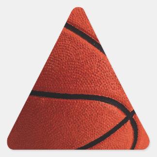 Baloncesto caliente de moda pegatina triangular