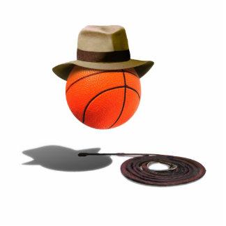 Baloncesto con Fedora y el azote Escultura Fotografica