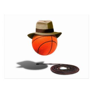 Baloncesto con Fedora y el azote Postales