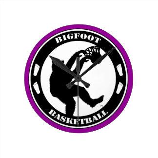 Baloncesto de Bigfoot Relojes