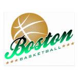 Baloncesto de Boston Tarjetas Postales