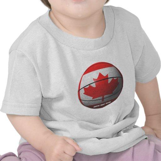 Baloncesto de Canadá Camiseta