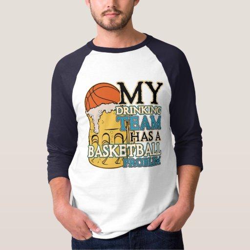 Baloncesto de consumición del equipo playera