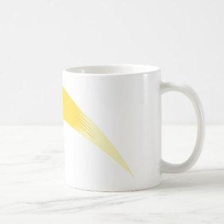 Baloncesto de enfoque tazas de café