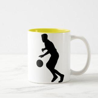Baloncesto de goteo taza de dos tonos