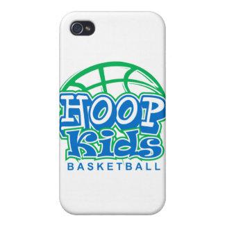 Baloncesto de HoopKids iPhone 4/4S Carcasa