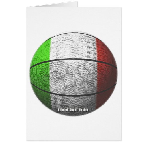 Baloncesto de Italia Tarjetón