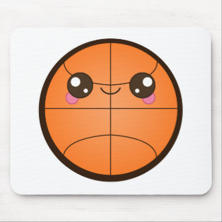 Baloncesto de Kawaii Tapetes De Raton