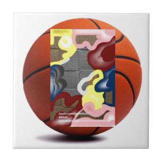 Baloncesto de la armadura azulejo cuadrado pequeño