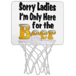 Baloncesto de la cerveza canasta mini
