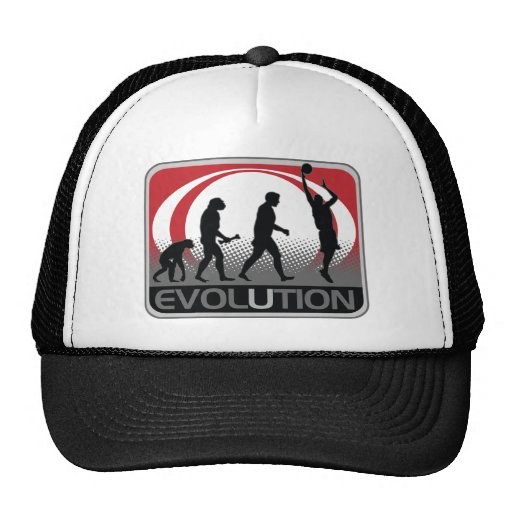 Baloncesto de la evolución gorra