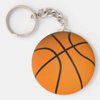 Baloncesto de la obra clásica de Brown Llavero Redondo Tipo Pin
