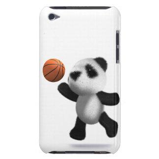 baloncesto de la panda del bebé 3d iPod touch funda