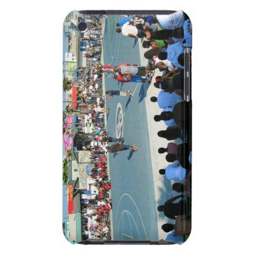 Baloncesto de la playa de Venecia iPod Case-Mate Carcasa