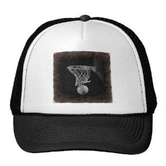 Baloncesto de la sepia gorras
