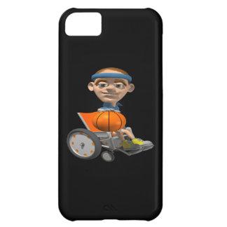 Baloncesto de la silla de rueda funda para iPhone 5C