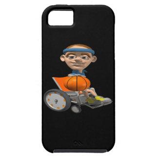 Baloncesto de la silla de rueda funda para iPhone SE/5/5s
