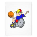 Baloncesto de la silla invitación