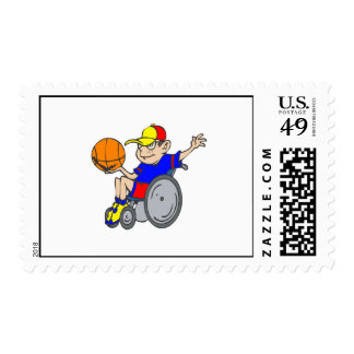 Baloncesto de la silla franqueo