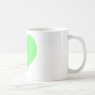 Baloncesto de la verde lima taza