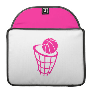 Baloncesto de las rosas fuertes funda macbook pro