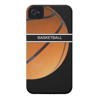 baloncesto de los casos del iPhone 4 Case-Mate iPhone 4 Funda