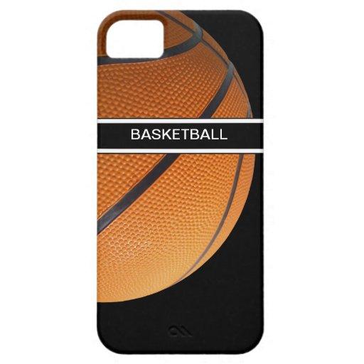 baloncesto de los casos del iPhone 5 iPhone 5 Fundas