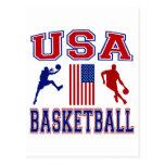 Baloncesto de los E.E.U.U. Postales