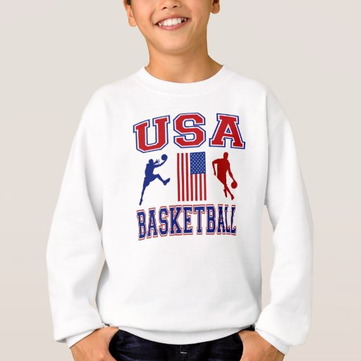 Baloncesto de los E.E.U.U. Sudadera