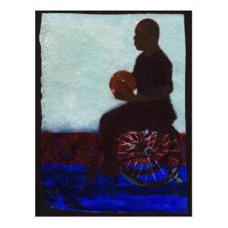 Baloncesto de silla de ruedas 2011 tarjeta postal
