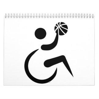 Baloncesto de silla de ruedas calendario