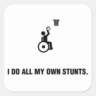 Baloncesto de silla de ruedas colcomania cuadrada