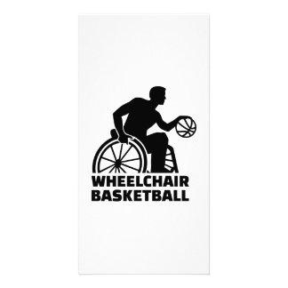 Baloncesto de silla de ruedas tarjetas personales