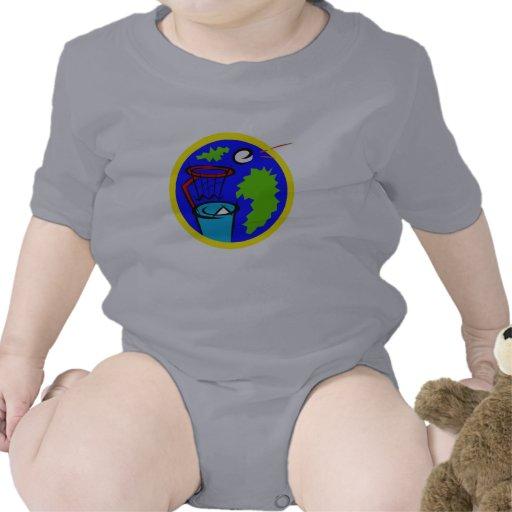 Baloncesto de Trashcan Traje De Bebé