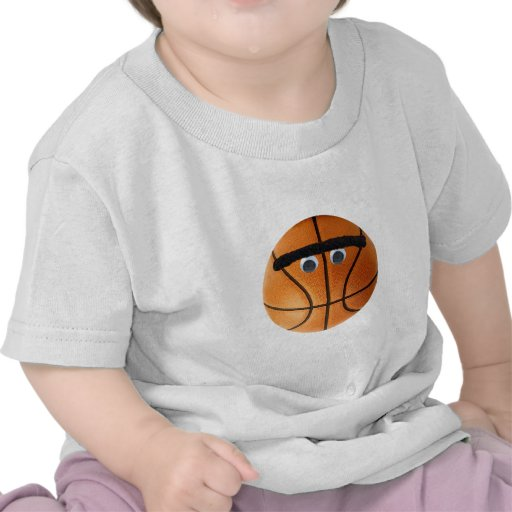 Baloncesto de Unibrow Camiseta