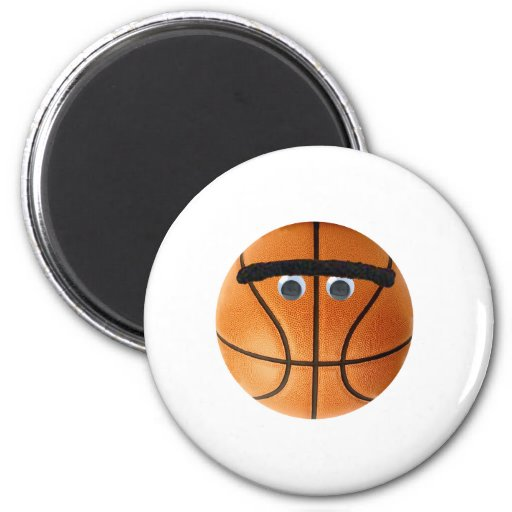 Baloncesto de Unibrow Imán Para Frigorifico