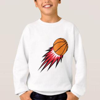 baloncesto de voladura de las llamas polera