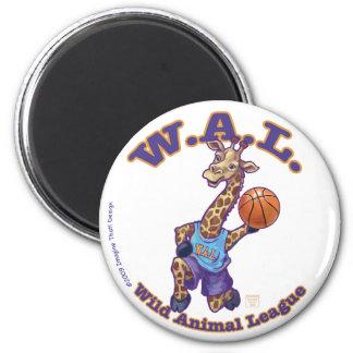 Baloncesto de WAL Imán Redondo 5 Cm