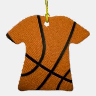 Baloncesto Adorno De Cerámica En Forma De Camiseta