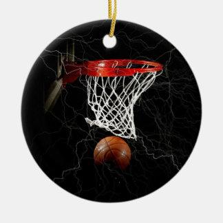 Baloncesto Adorno Redondo De Cerámica